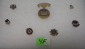Early Masonic And Misc. Lodge Pins And Medals