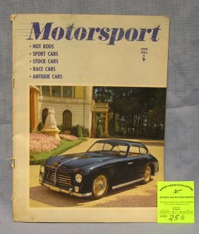 Vintage Motor Sport Magazine