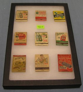 Early Advertising Match Books