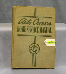 Antique Auto Owners Home Service Manual