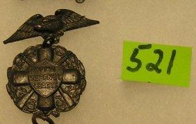 Vintage Home Defense League Badge