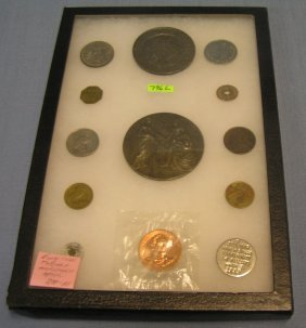 Early Collection Of Coins, Tokens And More