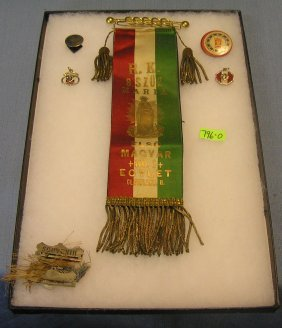 Group Of Masonic Collectibles