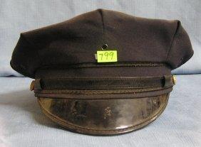 Vintage Policeman Dress Cap