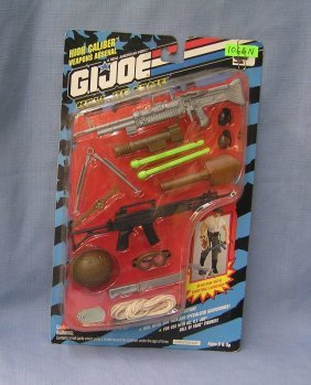 Vintage G. I. Joe High Caliber Weapons Arsenal