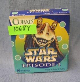 Star Wars Episode 1 Figural Band Aids