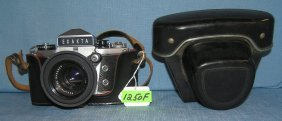 Exakta Professional Model 35mm Camera