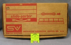 Vintage Slide Sorter By Smith Victor Corp