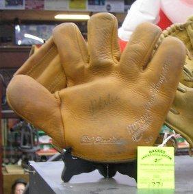 Early Gene Thomson Leather Baseball Glove