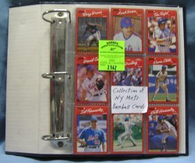 Collection Of Ny Mets Baseball Cards