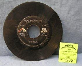 Vintage Elvis Presley 45rpm Record