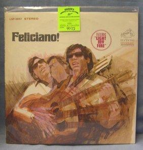 Vintage Jose Feliciano Record Album