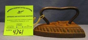 Miniature Cast Iron Clothes Iron