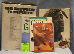 Group Of Guitar And Keyboard Music Books And More