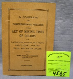 Early Paint Company Instructional Mixing Booklet