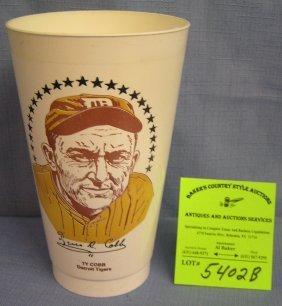 Vintage Ty Cobb Detriot Tigers Sports Cup