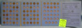 Collection Of Vintage Lincoln Wheat Back Pennies