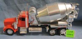 Vintage Kenworth Cement Mixer Hard Plastic Toy Truck