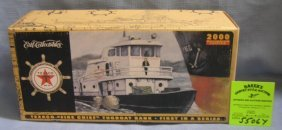 Vintage Texaco Tug Boat Bank