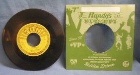 Vintage Johnny Cash 45rpm Record On Sun Label