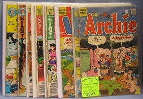 Group Of Vintage Archie Comic Books