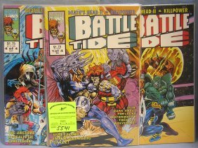 Vintage Battle Tide Comics