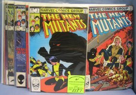 Marvel Comics Featuring The New Mutants