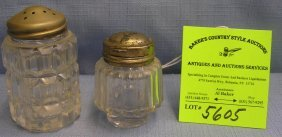 Pair Of Vintage Salt Shakers
