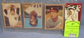 Group Of Vintage Topps Baseball Cards