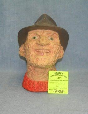 Vintage Freddy Kruger Head Water Pistol