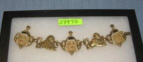 Vintage Egyptian Style Bracelet