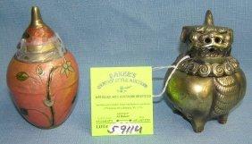 Pair Of Oriental Decorative Pieces