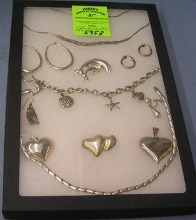 Collection Of Quality Sterling Silver And Other Jewelry