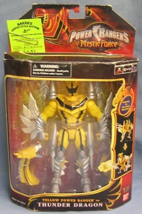 Vintage Power Rangers Thunder Dragon Action Figure