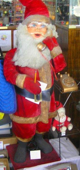 Large Mechanical Animated Santa Claus