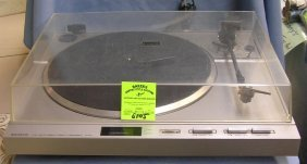 Vintage Sanyo Full Auto Direct Drive Turntable