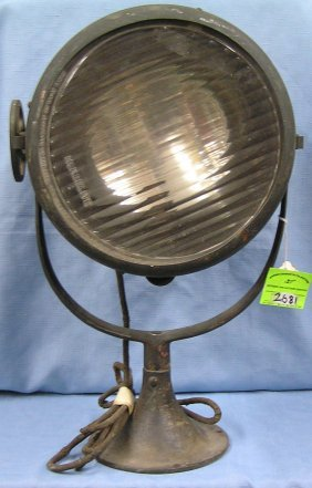 Antique Search Light By Carlyle And Finch
