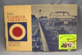 1966 Rambler American Owner's Manual