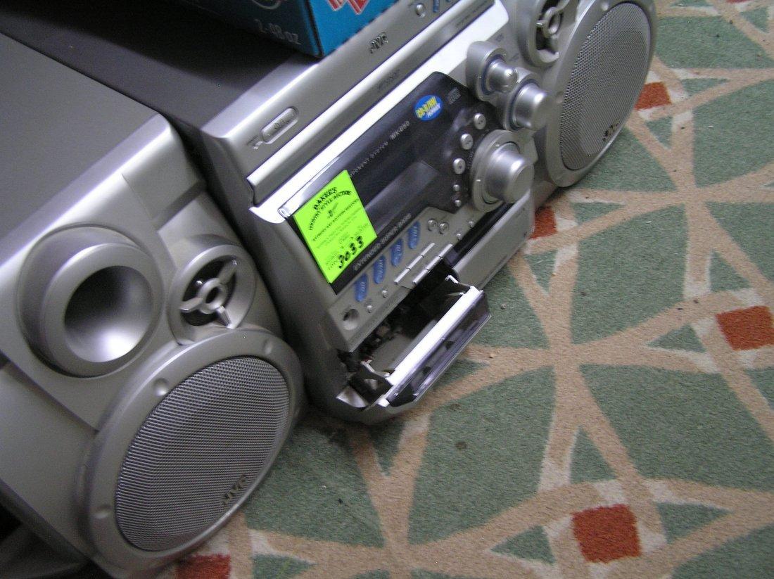 Vintage JVC compact component system