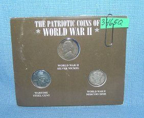 The Patriotic Coins Of Wwii Coin Set