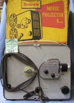 Early Kodak Brownie 8mm Movie Projector