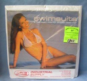 Vintage Swimsuit Calendar