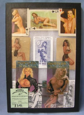 Group Of Vintage Erotica Collectibles