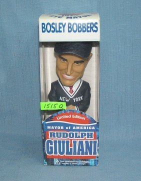 Rudolph Giuliani Bobble Head Doll