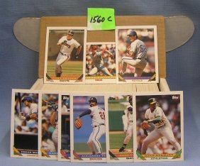 Box Full Of 1993 Topps Baseball Cards