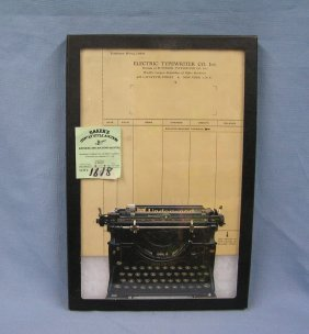 Group Of Typewriter Collectibles