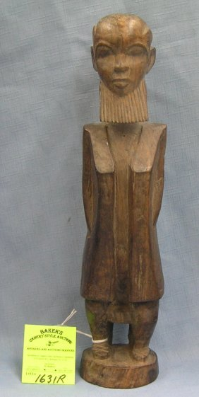 Antique Hand Carved Oriental Wise Man Figure