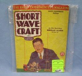 Vintage Short Wave Craft Radio Magazine