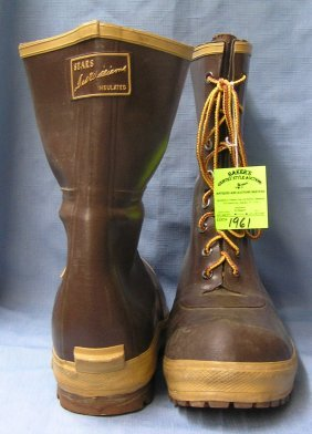 Pair Of Original Ted Williams Winter Boots