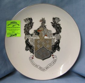 European Crest Collectors Plate